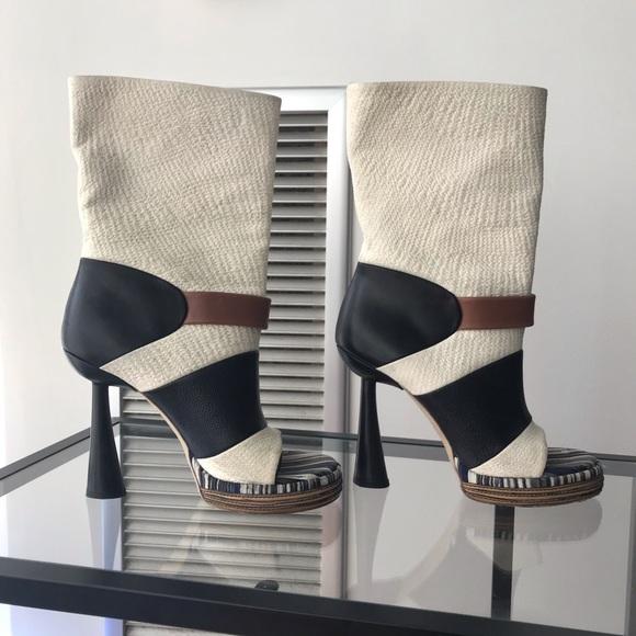 8a088c8da6 Shoes   Balenciaga Funnel Heel Open Toe Booties   Poshmark